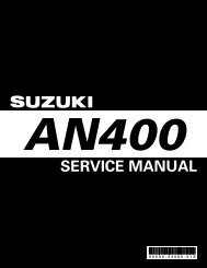 Suzuki-Burgman-AN400-Service-Manual-Eng