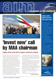 'Invest now' call by MAA chairman
