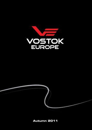 p-VE Booklet 2011 Autumn - curv.cdr - Vostok Europe