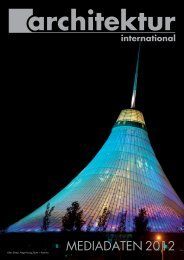 themenplan 2012 - Architektur International