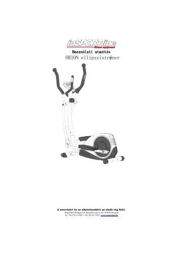 ORION ellipszistréner