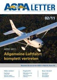 02/11 Allgemeine Luftfahrt komplett vertreten - AOPA - Germany