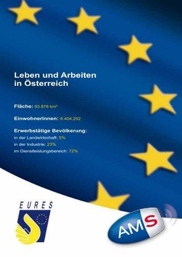 Leben und Arbeiten in Österreich Fläche - Arbeitsmarktservice ...