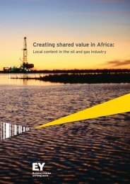 Creating shared value in Africa