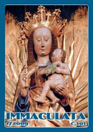 :ˇŞˇ ˇľ˘ŞŞ© - Immaculata - Minorité
