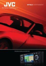 Evropský katalog autorádií 2007