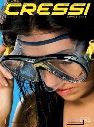 CRESSI SUB kompletní KATALOG potápění 2010 - Divers