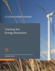 Tracking the Energy Revolution