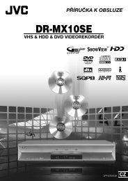 DR-MX10SE - JVC Česká republika