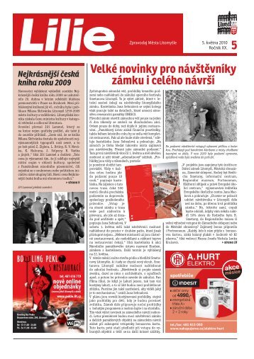 Velké novinky pro návštěvníky zámku i celého návrší - Litomyšl
