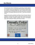 COMMUNITY CENTER - Page 2