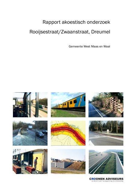 Rapport akoestisch onderzoek Rooijsestraat/Zwaanstraat Dreumel