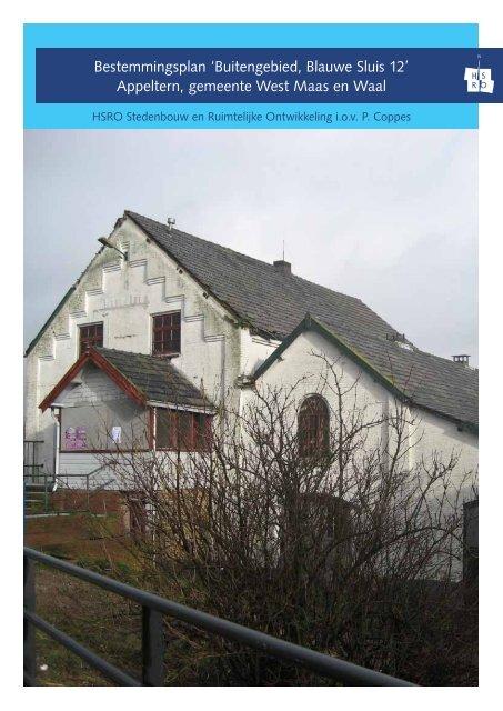 Bestemmingsplan 'Buitengebied, Blauwe Sluis 12' - Gemeente West ...