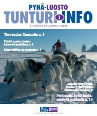 Luosto talviesite - sivut 1-25 (pdf) - Parasloma.fi
