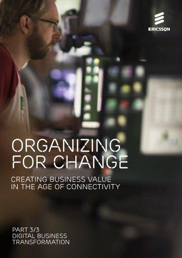 ORGANIZING FOR CHANGE