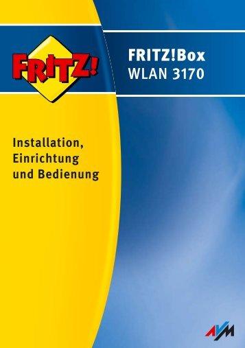 FRITZ!Box WLAN 3170 - AVM