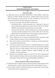 """Regulamin Konkursu """"ŚWIĄTECZNE ... - Amazingtv.pl"""