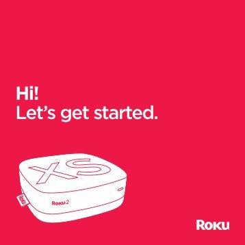 Hi! Let's get started