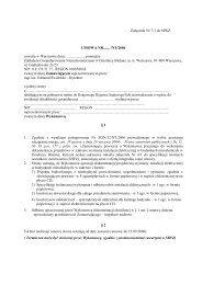 UMOWA druk-projekty elektryczne