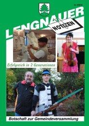 Erfolgreich in 2 Generationen - Einwohnergemeinde Lengnau BE