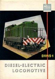 DVM5-1 Diesel Electric Locomotive - GANZdata.hu