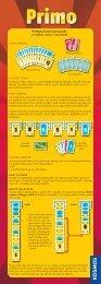 Wolfgang Kramer kártyajátéka 2-6 játékos részére, 7 éves kortól
