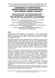 IDENTIFIKÁCIA A KVANTIFIKÁCIA ... - W&ET Team