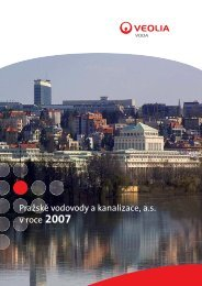 Pražské vodovody a kanalizace, a.s. v roce 2007