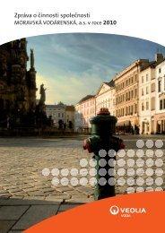 Zpráva o činnosti společnosti 2010