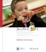 2. Handreichung Deutsch & PC - Grundschule - Hessen