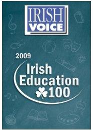 S2 IRISH VOICE Wed. Oct 7 2009 – Tues. Oct 13 2009