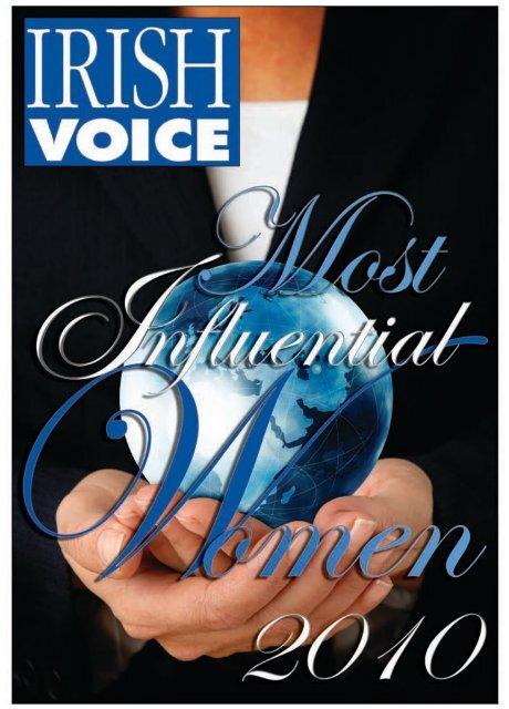 Most Influential Women - Irish Central