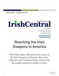 Reaching the Irish Diaspora in America
