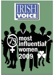 """THE 75 MOST INFLUENTIAL WOMEN"" FROM EVERYONE AT LIFFEY VAN LINES"