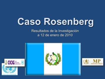 Caso Rosenberg