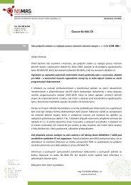 Příloha č. 10 - podpora MAS pro období 2014 - 2020 - Via rustica