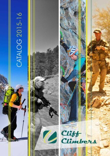 CLIFF CLIMBERS CATALOG 2015