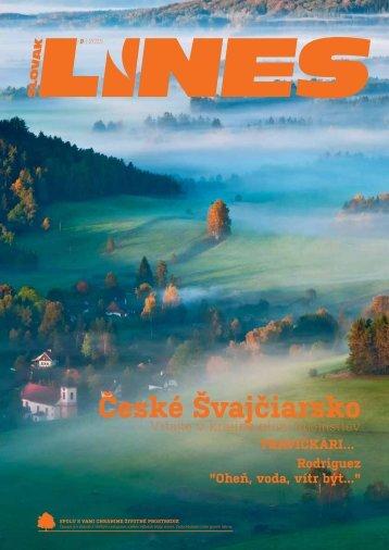 In Drive magazín Slovak Lines 9 2015