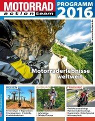 MOTORRAD action team Programm 2016