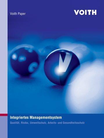 Integriertes Managementsystem