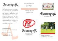 BauerngolfC - TSV Georgsdorf