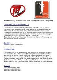 Weitere Informationen erhalten Sie hier: PDF ... - TSV Georgsdorf
