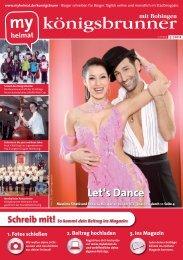 Schreib mit! So kommt dein Beitrag ins Magazin - MH Bayern