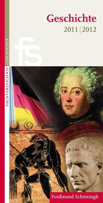 Geschichte - Verlag Ferdinand Schöningh