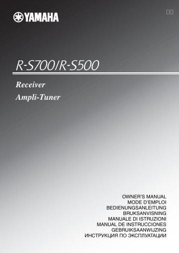 Receiver Ampli-Tuner