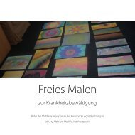 Freies Malen - Krebsberatungsstelle Stuttgart