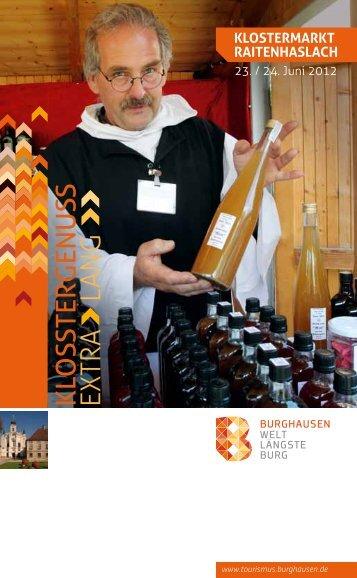 imPressionen 2011 - Burghausen - Stadt Burghausen