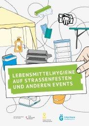 Lebensmittelhygiene auf Straßenfesten und anderen Events