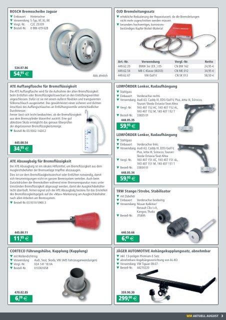 Bremsflüssigkeit für Werkstattgeräte ATE 03.9314-5900.3 Absaugbalg