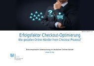 Erfolgsfaktor Checkout-Optimierung